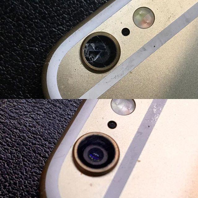 iPhone 6 カメラレンズ修理可能