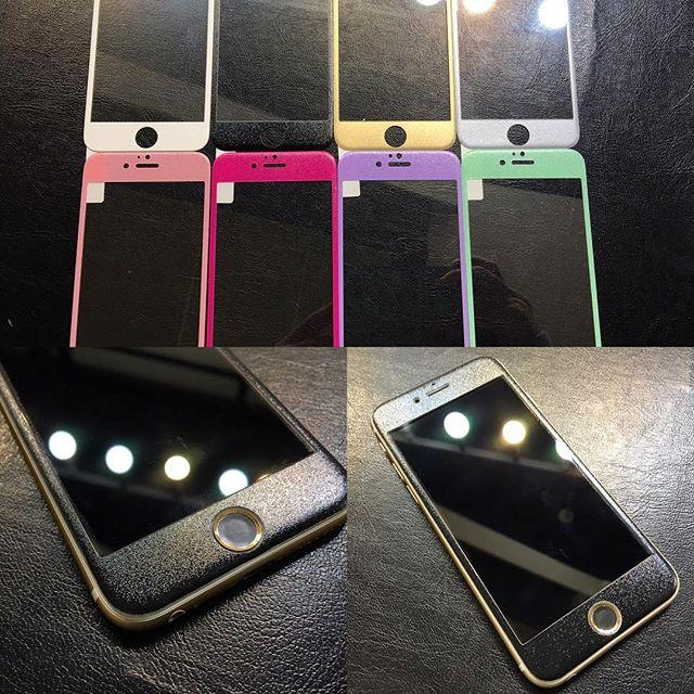 iPhone 6/6s、6 Plus/6s Plus用のフチが欠けない強化ガラスを入荷しました!入荷から大人気です!